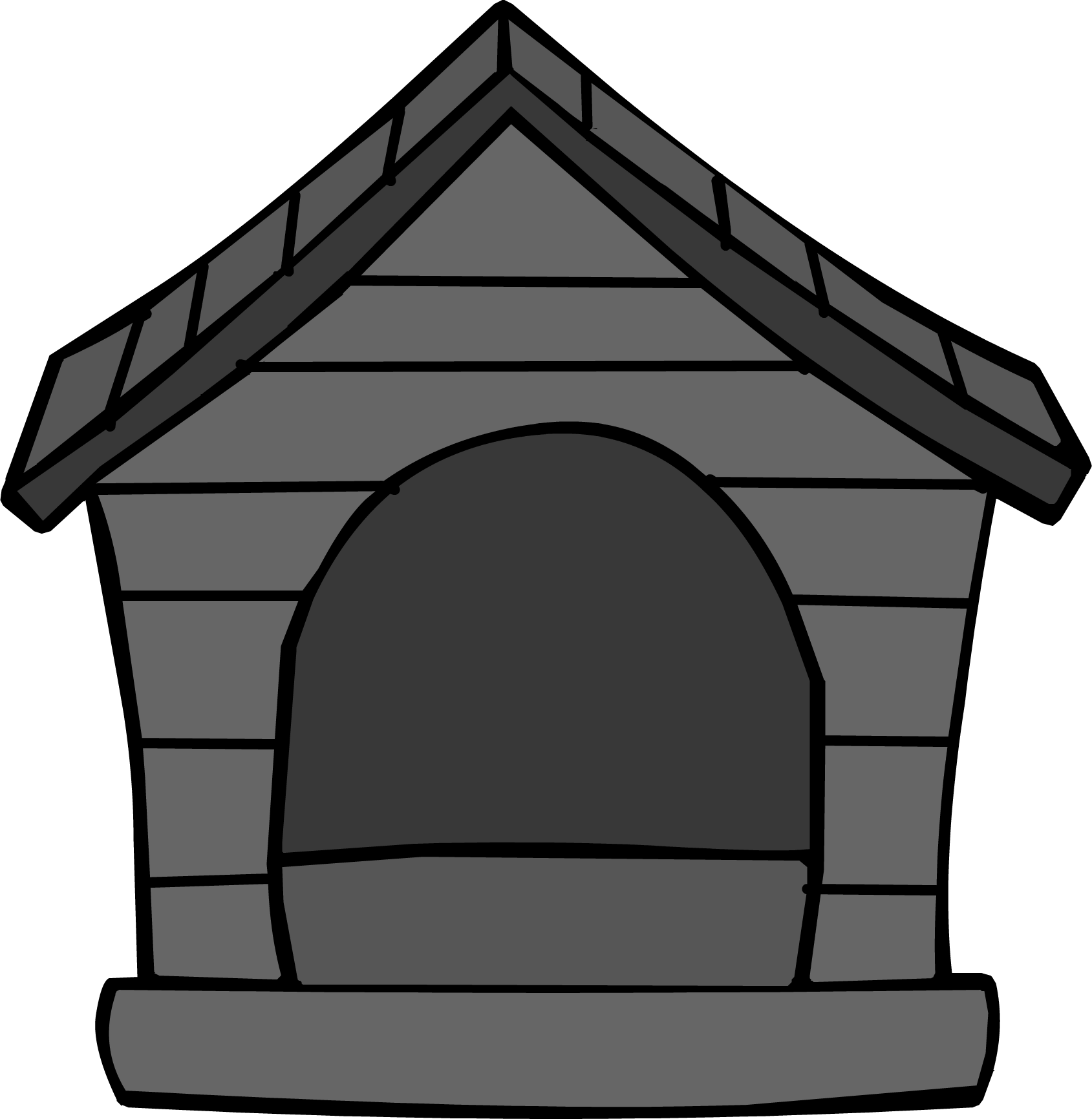 Black Puffle House