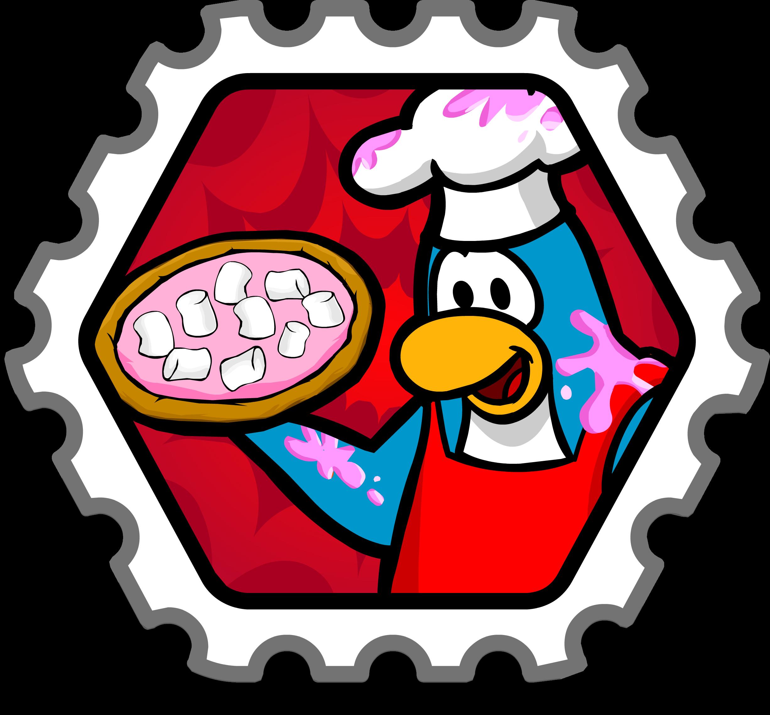 Dessert Chef Stamp