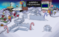 New Year's Day 2019 Snow Forts 2