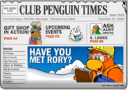 Club Penguin Times Issue 134