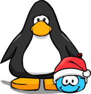 Holiday Party 2020 Blue Puffle PC