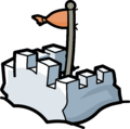 Snow Forts Map Icon