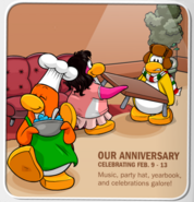 3rd Anniversary Party Advertisement