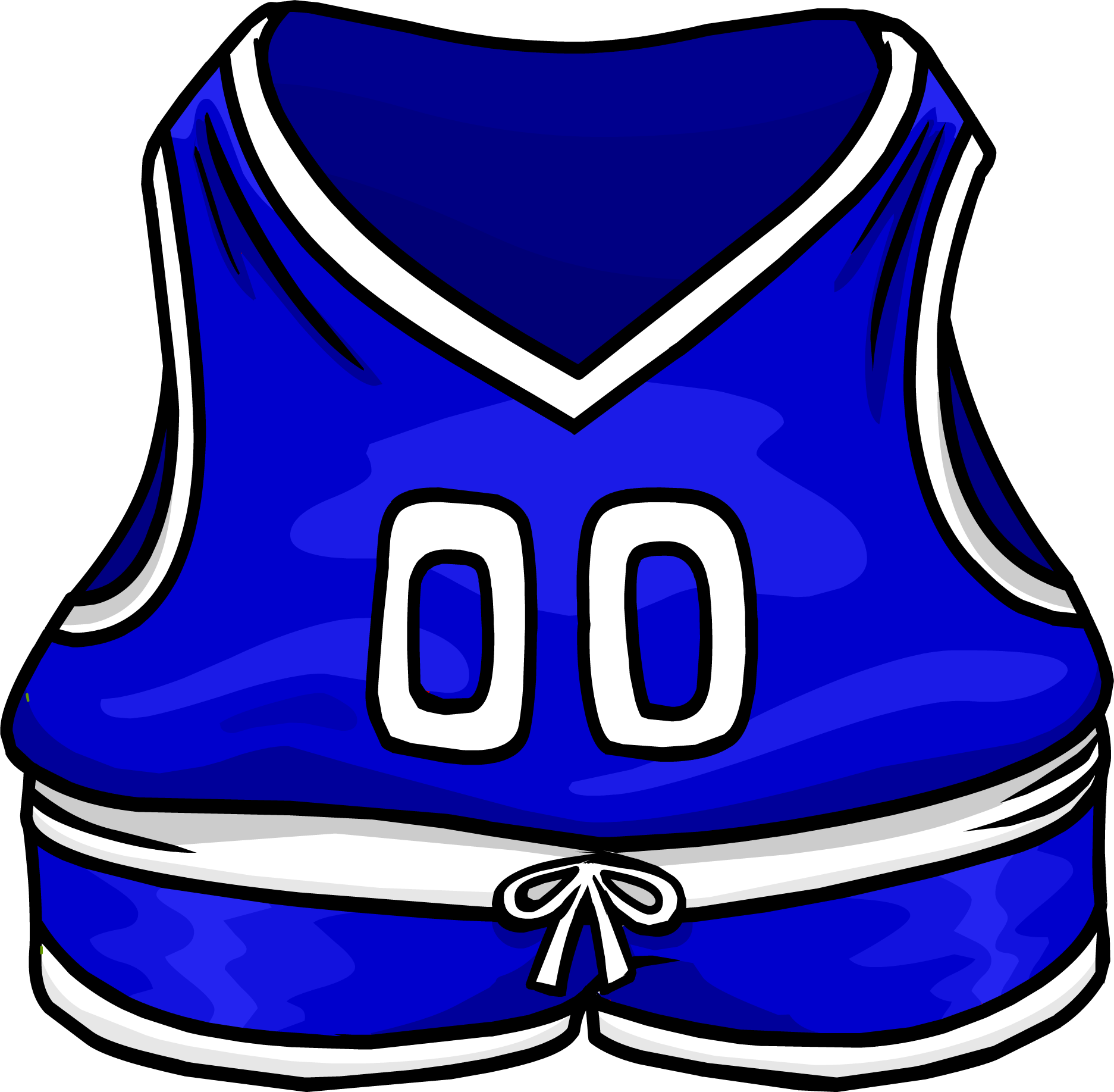 Blue Basketball Jersey