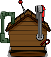 Brown Puffle House 2