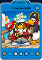 Lovebacon56 Player Card - Late March 2020 - Club Penguin Rewritten (2)