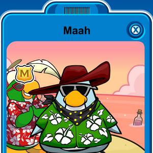 Maah Player Card - Mid April 2020 - Club Penguin Rewritten.png