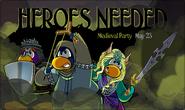 Medieval Party 2018 Sneak Peek Login