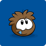 Brown Puffle Transformation PC