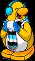 Penguin Style Nov18 Blue Earmuffs