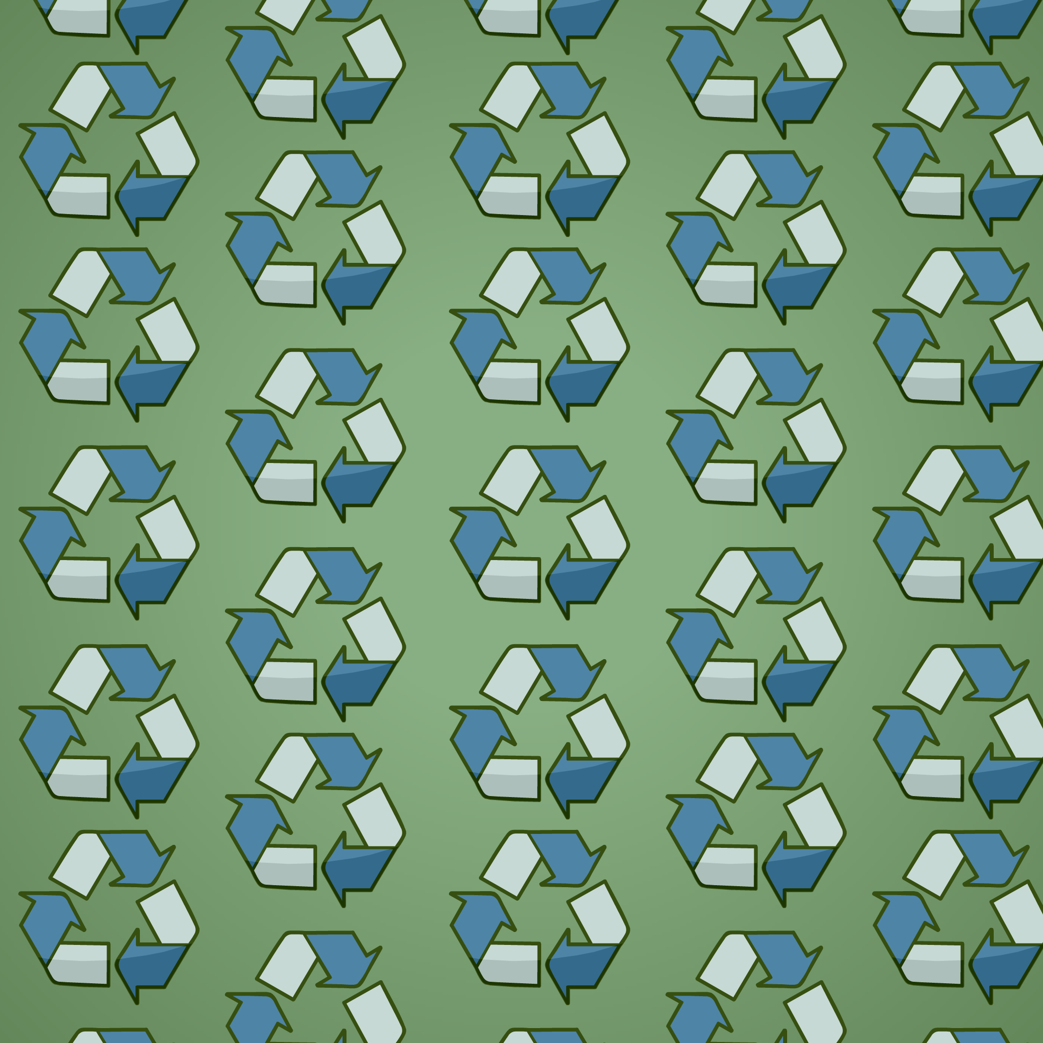 Recycle Decal Background