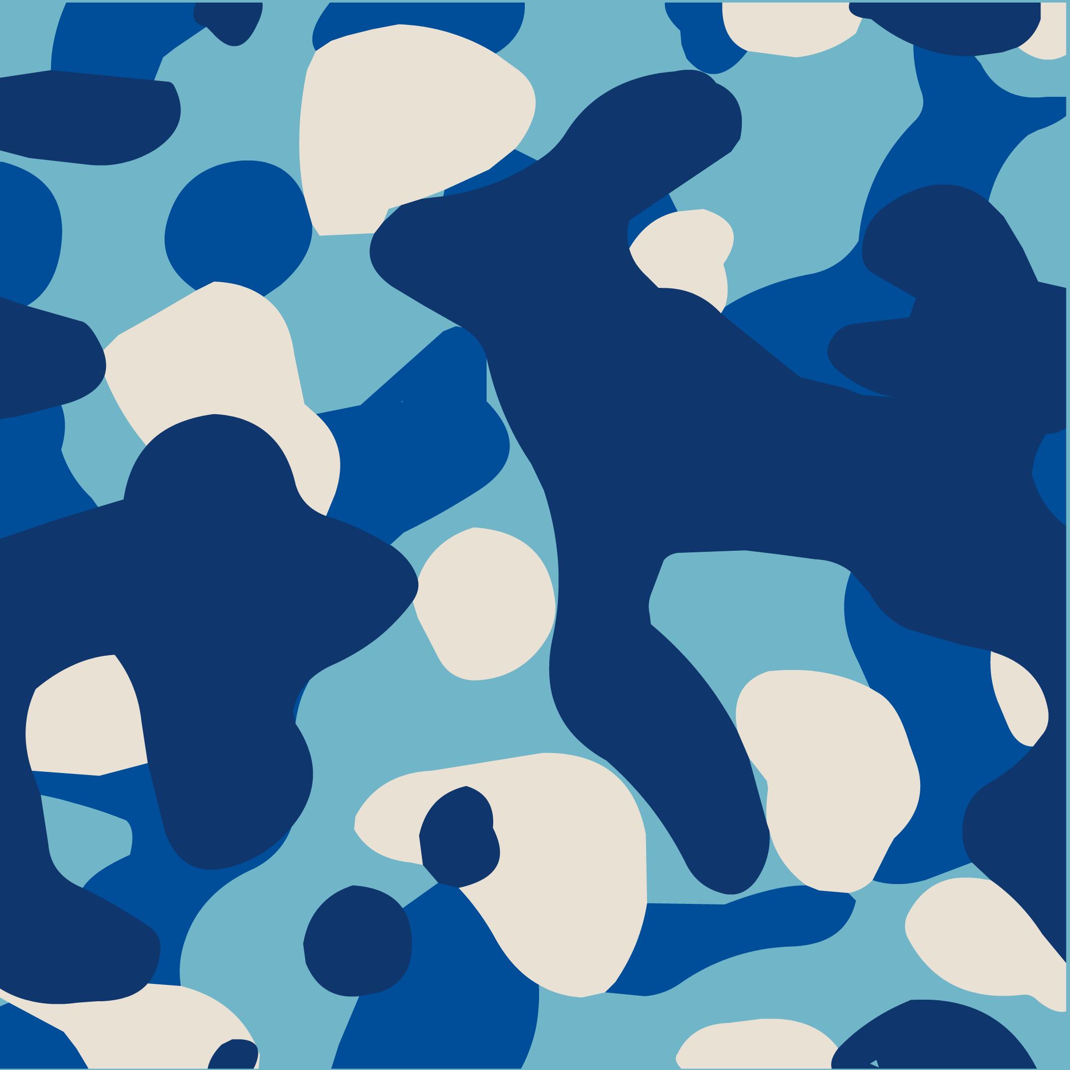 Blue Camo Background