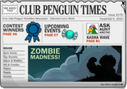 Club Penguin Times Issue 179