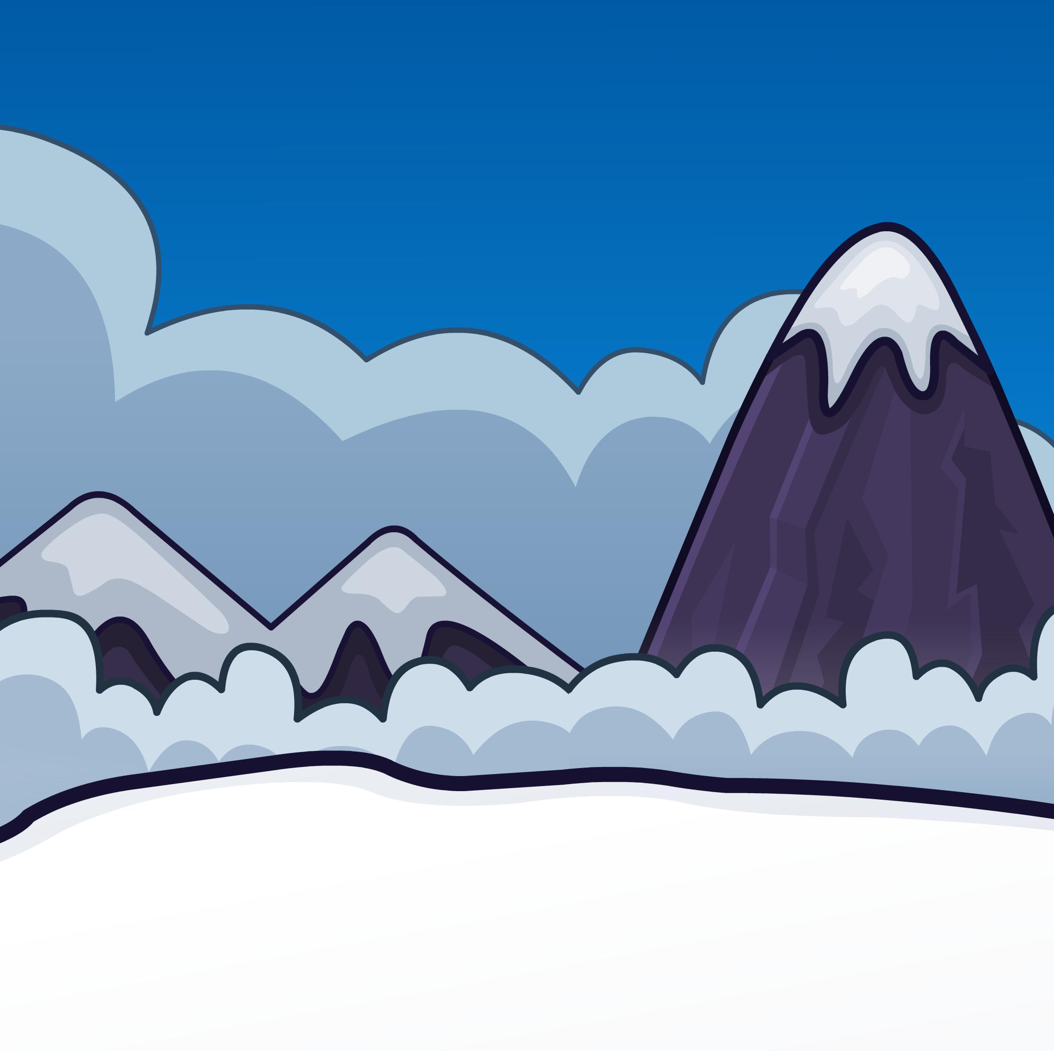 Top Of The Mountain Background Club Penguin Rewritten Wiki Fandom