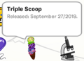 Triple Scoop Pin SB