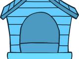 Blue Puffle House