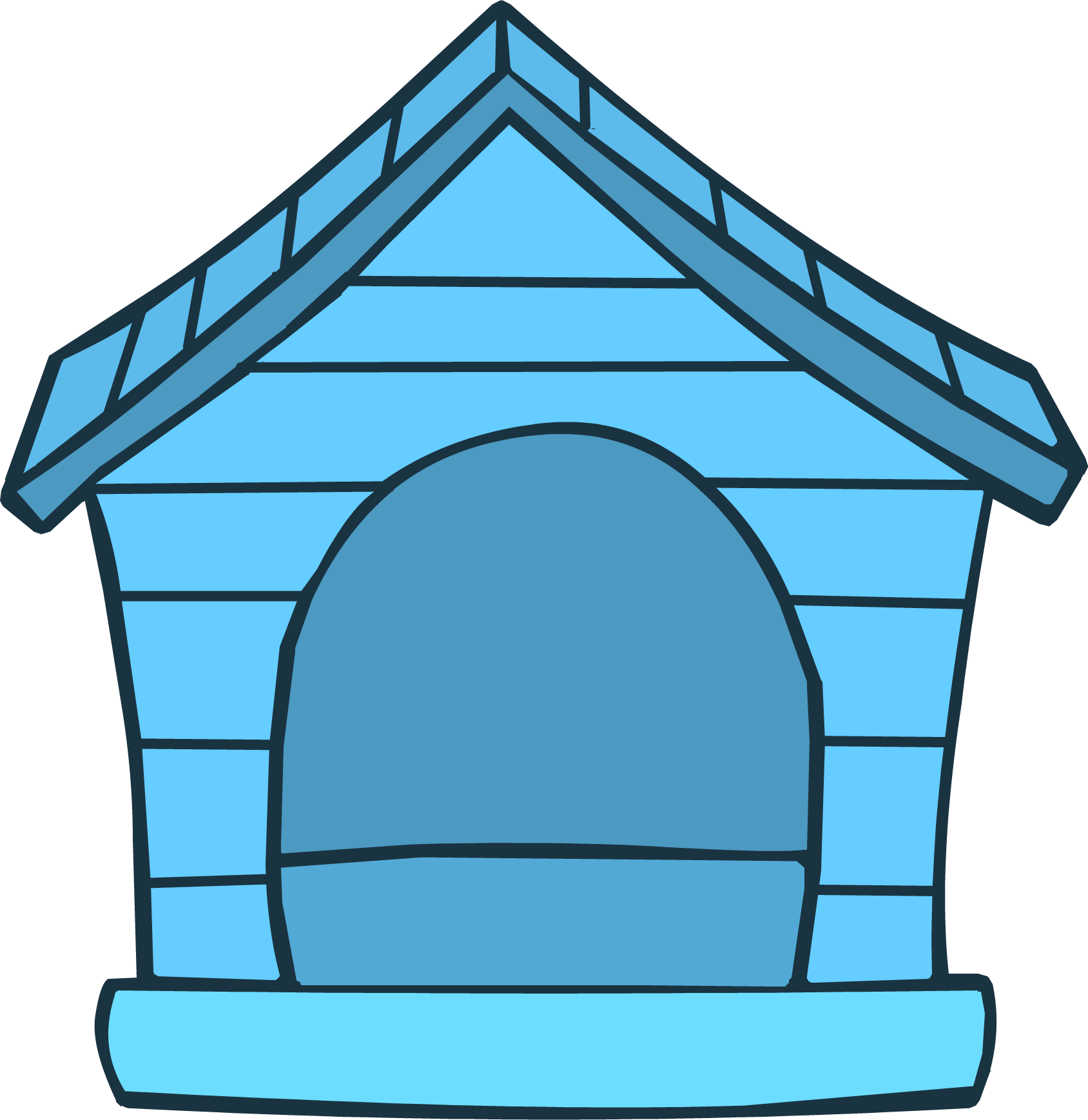 Blue Puffle House