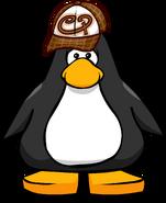 Brown Skater Hat PC
