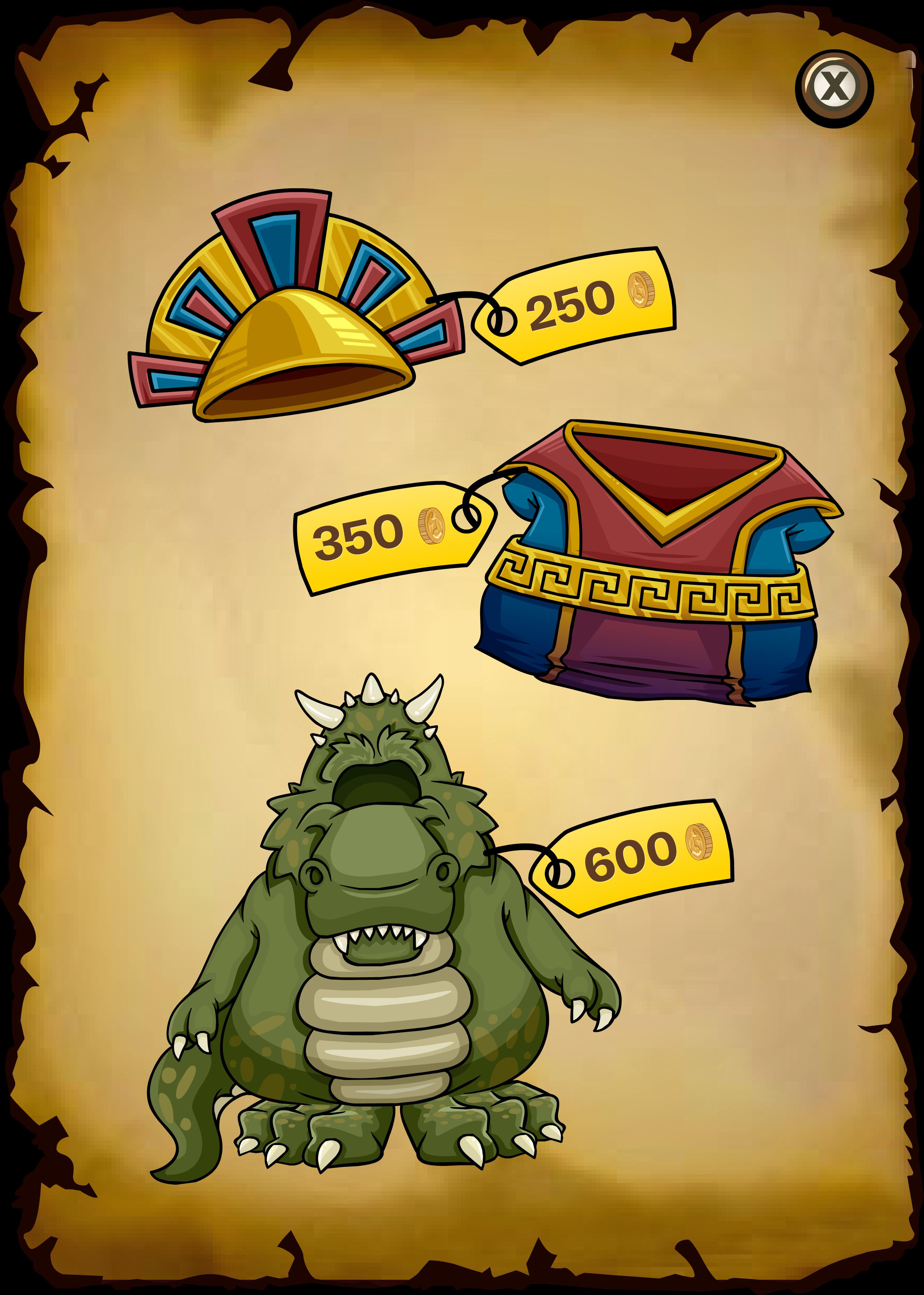Dinosaur Island Catalog