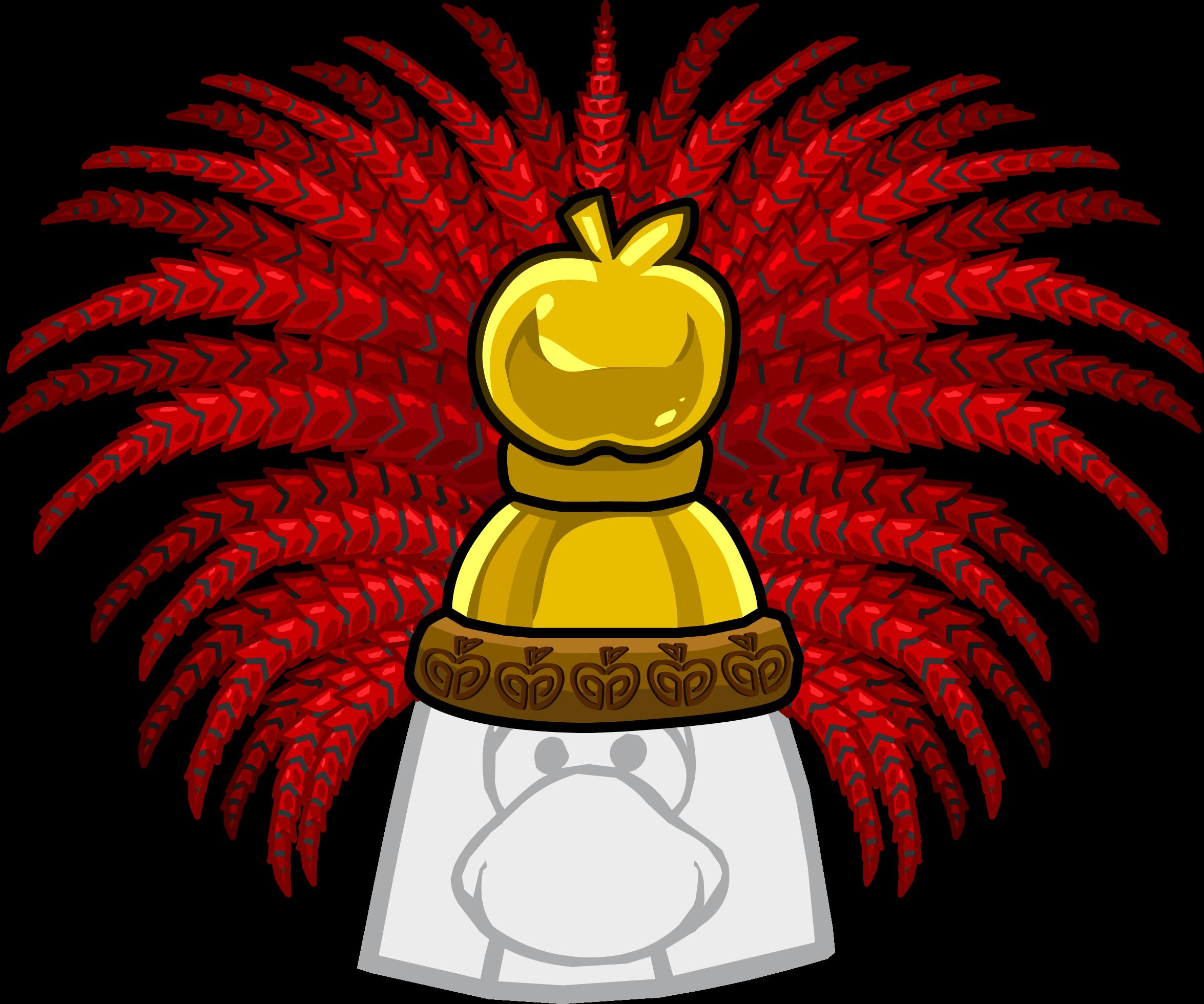 Apple Headdress