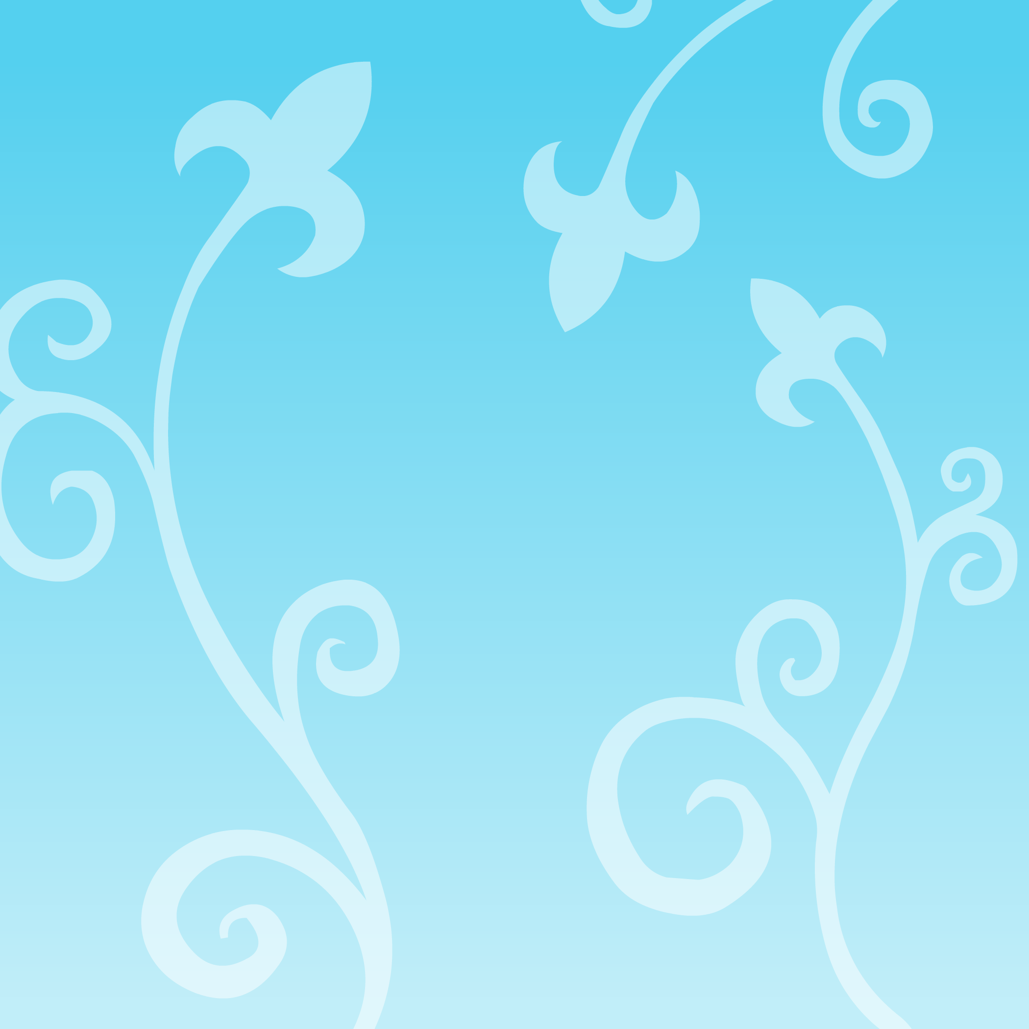 Blue Vines Background