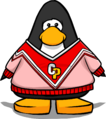 Red Cheerleading Sweater PC