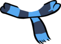Blue Two Tone Scarf old