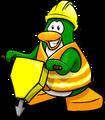 Hard Hat and Safety Vest Penguin Style Jan'18