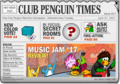 Club Penguin Times Issue 17