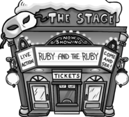 Ruby and the Ruby - Exterior - April Fools' Party 2019
