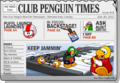 Club Penguin Times Issue 16