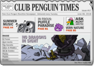 Club Penguin Times Issue 57