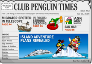 Club Penguin Times Issue 62
