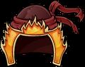Fiery Helmet