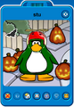 Stu Player Card - Mid October 2020 - Club Penguin Rewritten
