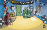 150th Newspaper Pin Location