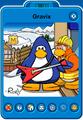 Gravix Player Card - Late September 2020 - Club Penguin Rewritten