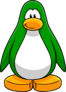 Green Create Penguin