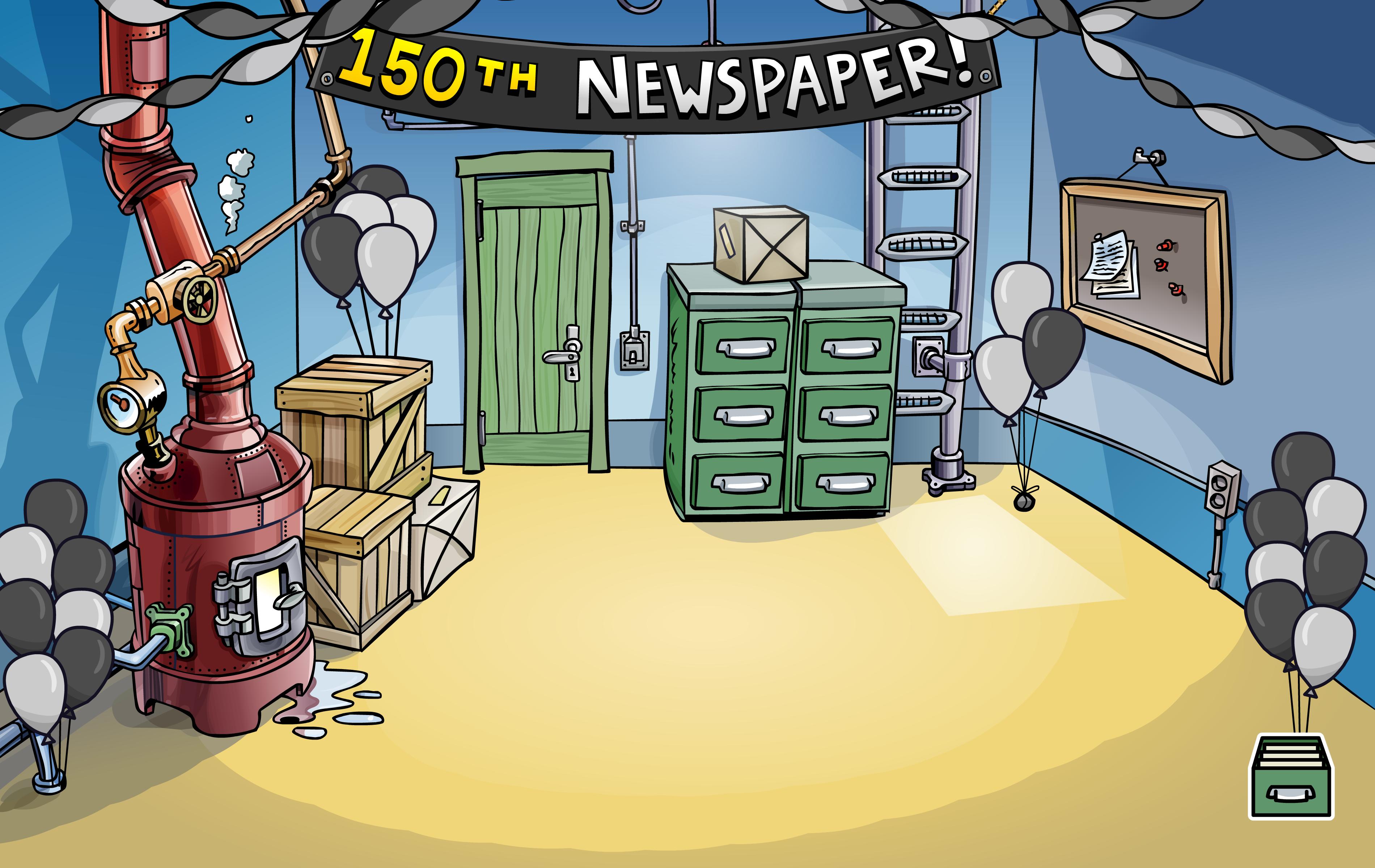 150th Newspaper Event