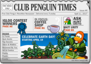 Club Penguin Times Issue 6