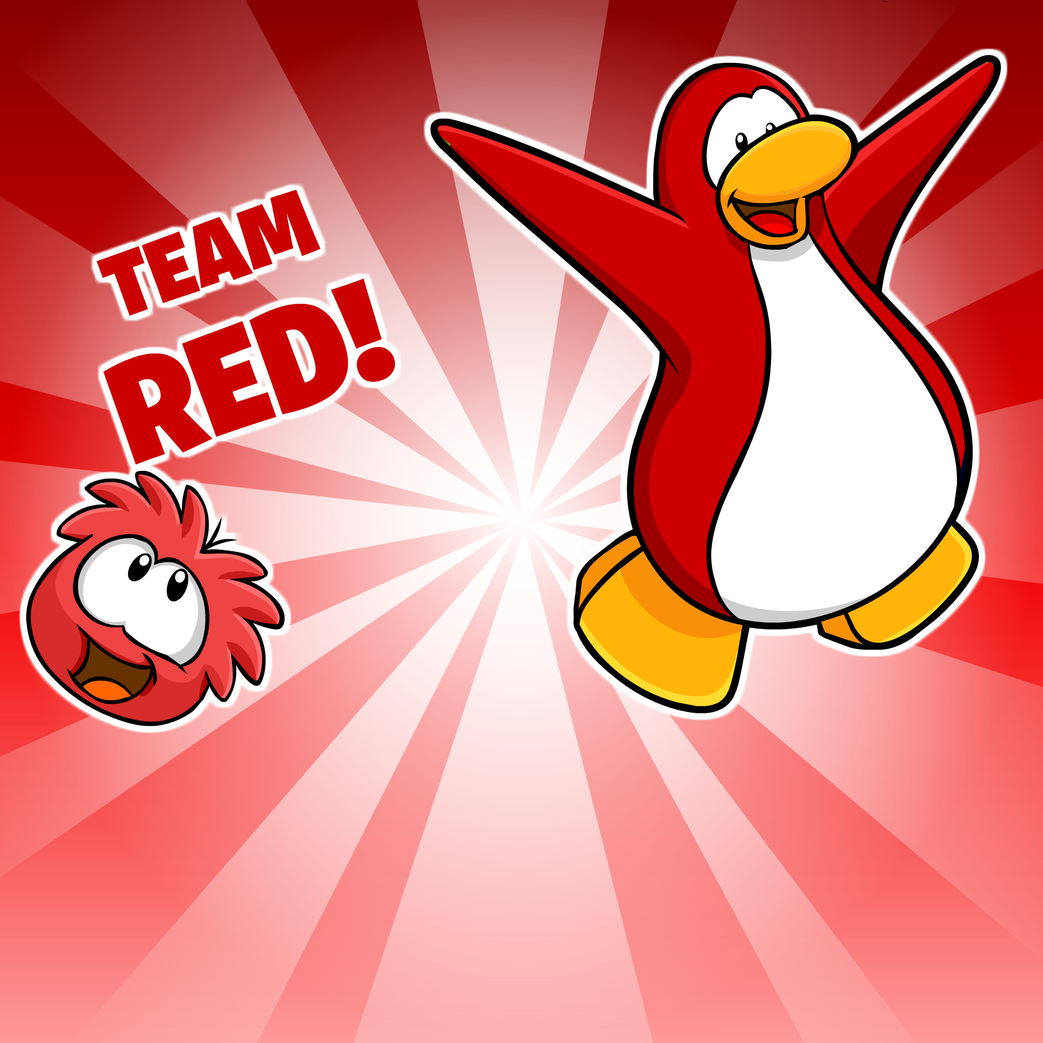 Go Red Background