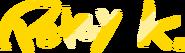 Petey K Awards Signature
