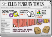 Club Penguin Times Issue 148
