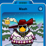 Maah Player Card - Late February 2020 - Club Penguin Rewritten (2).png