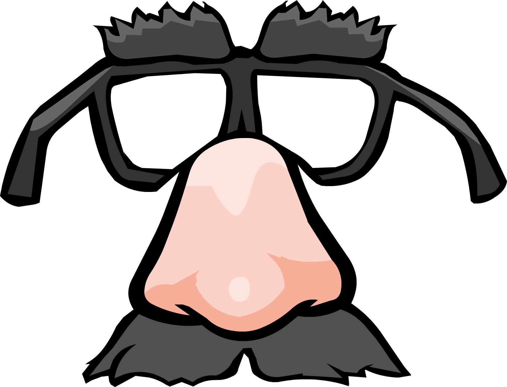 Funny-Face Glasses