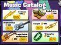 Music Catalog 2018