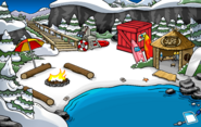 Puffle Party 2020 construction Cove