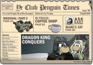 Club Penguin Times Issue 55