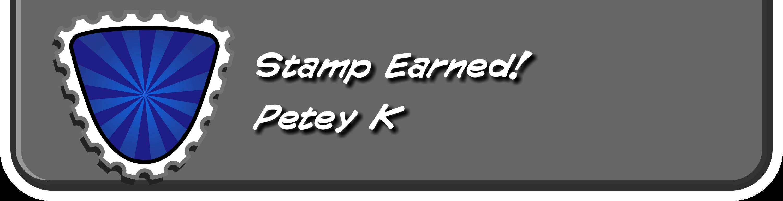Petey K Stamp