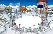 Puffle Party 2020 Snow Forts